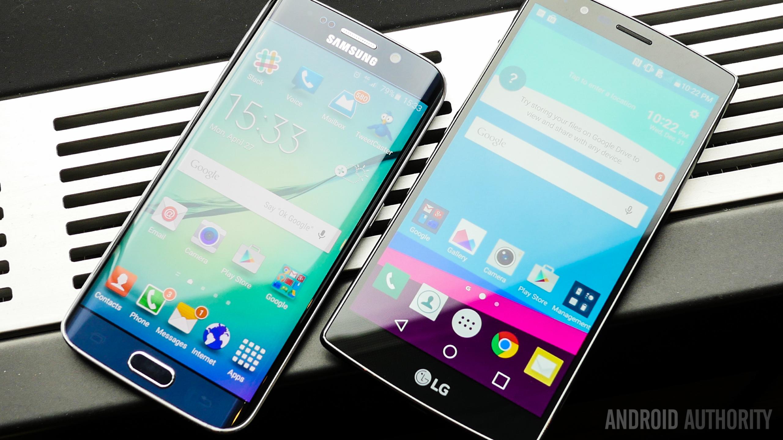 LG y Samsung 2