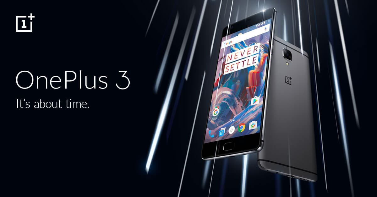 OnePlus 3 1