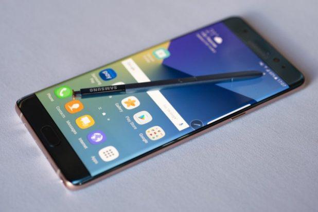 Ganadores del desastre del Samsung Note 7