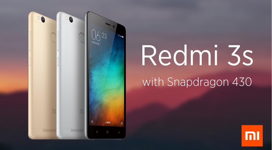 Xiaomi Redmi 3S1