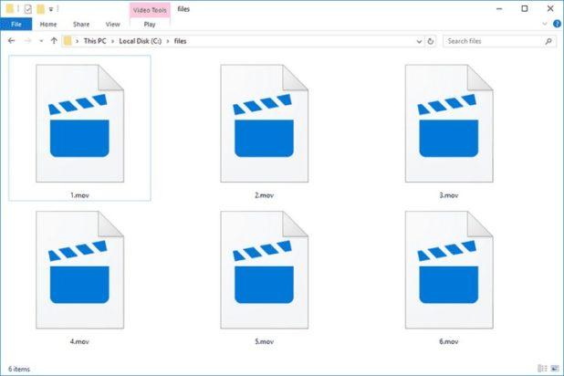 reparar archivos mov 1