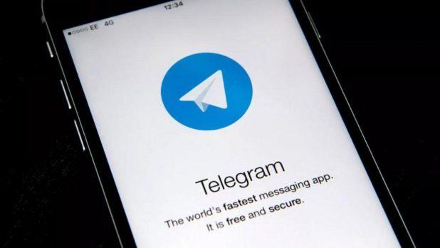 restringir el acceso a telegram con codigo seguridad