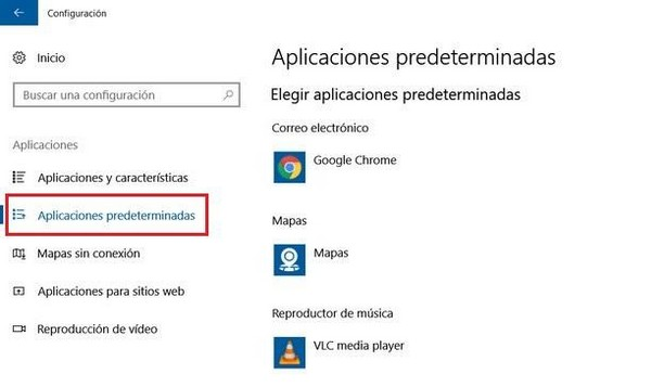 como cambiar un programa por defecto en windows