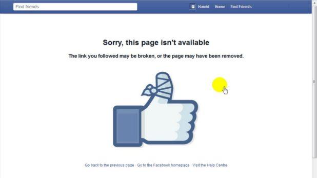 bloquear a un usuario en facebook