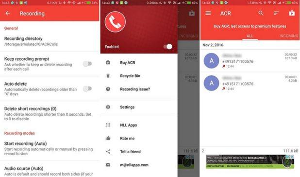 grabar llamadas con tu telefono android