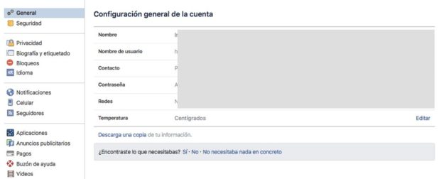 evitar que te etiqueten en facebook