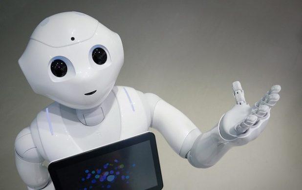 alquilar robot pepper 1