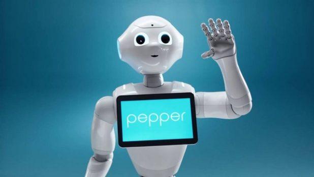 alquilar robot pepper