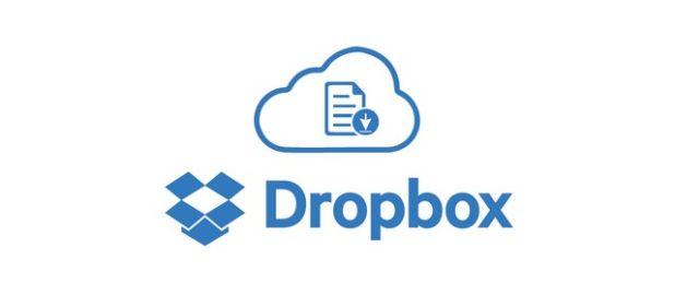 cargar archivos dropbox