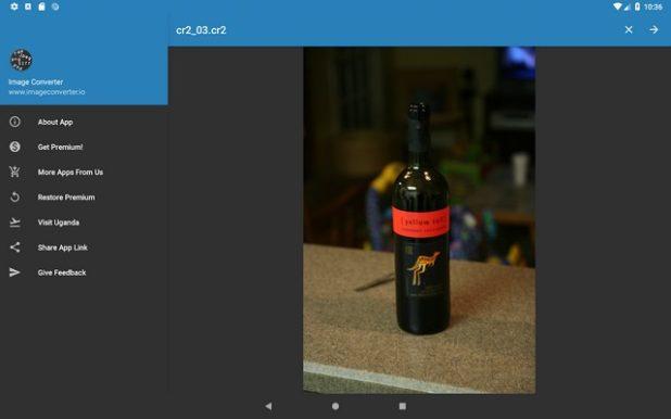convertir formato imagenes android
