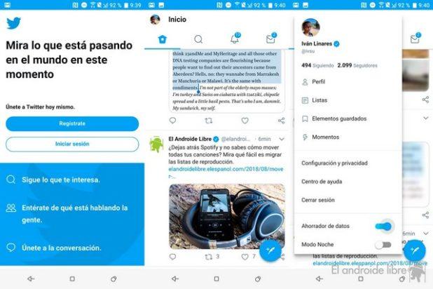 desactivar notificaciones de twitter en android 1