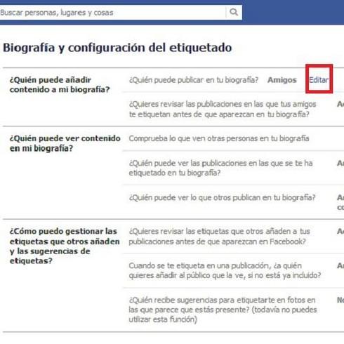evitar que se publique en facebook
